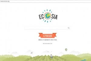 Descubre a Ecosia, un buscador web para plantar árboles
